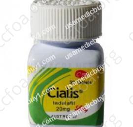 Brand Cialis Bottled
